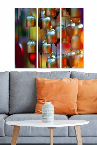Tablou decorativ (set 3 piese) Bianca 553BNC2710 multicolor