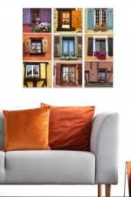 Tablou decorativ (set 3 piese) Bianca 553BNC2717 multicolor