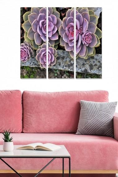 Tablou decorativ (set 3 piese) Bianca 553BNC2749 multicolor