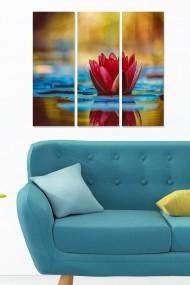 Tablou decorativ (set 3 piese) Bianca 553BNC2764 multicolor