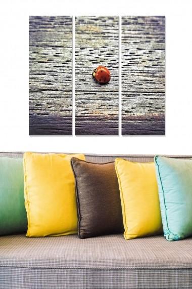 Tablou decorativ (set 3 piese) Bianca 553BNC2773 multicolor