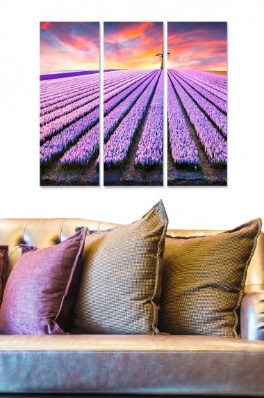 Tablou decorativ (set 3 piese) Bianca 553BNC2828 multicolor