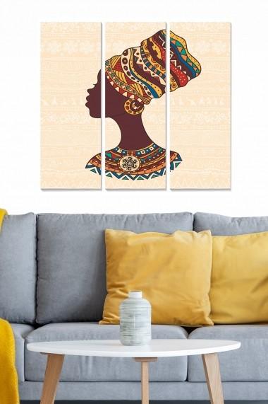 Tablou decorativ (set 3 piese) Bianca 553BNC2843 multicolor