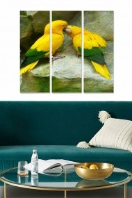 Tablou decorativ (set 3 piese) Bianca 553BNC2867 multicolor