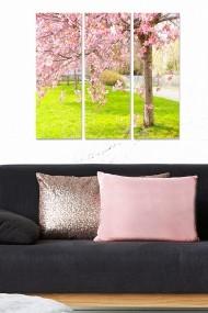 Tablou decorativ (set 3 piese) Bianca 553BNC2908 multicolor