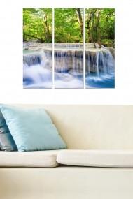 Tablou decorativ (set 3 piese) Bianca 553BNC2925 multicolor
