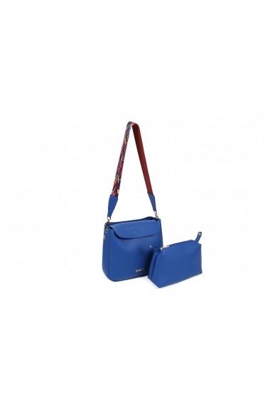Geanta Beverly Hills Polo Club 650BHP0636 Albastru