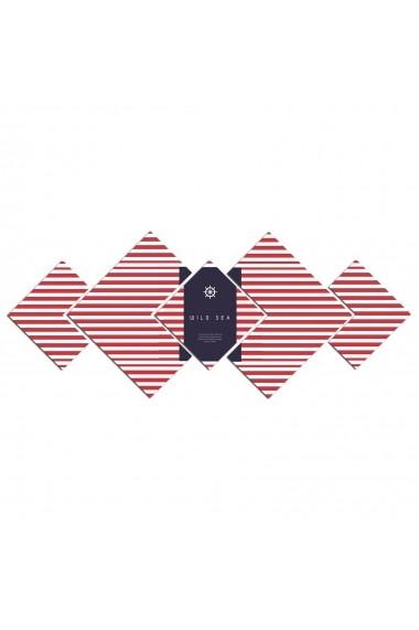 Tablou din MDF(5 bucati) Astro 778AST1976 Multicolor