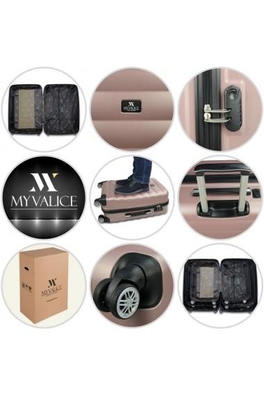 Troler Myvalice 853MYV1115 Auriu