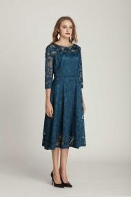 Rochie Taoyizhuai 14-14060 albastra