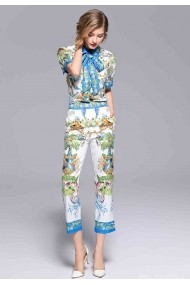 Set bluza si pantaloni Kaimilan QH484 multicolor - els