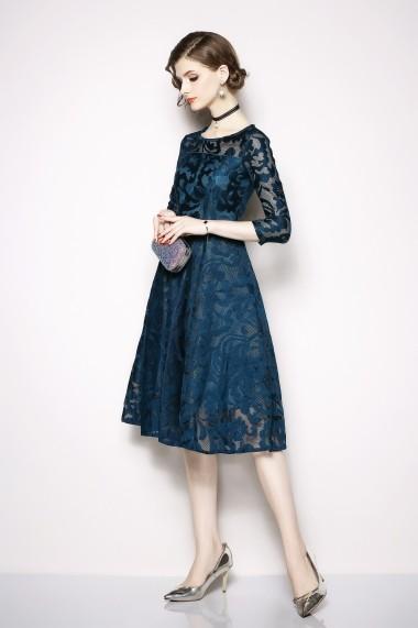 Rochie Kaimilan QK070 albastra - els