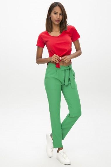 Pantaloni drepti NEW LAVIVA 650-2093 003 Verde