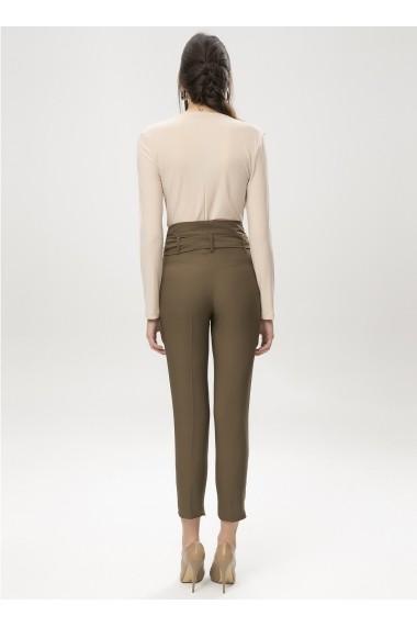 Pantaloni slim NEW LAVIVA 650-2097 056 Kaki