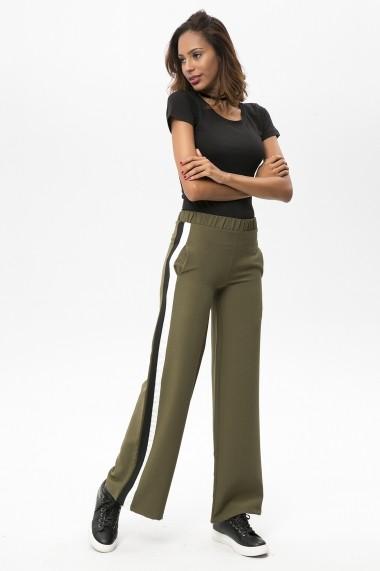 Pantaloni largi NEW LAVIVA 650-2215 056 Kaki