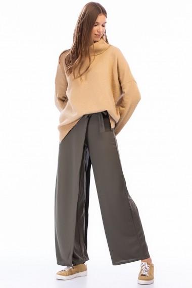 Pantaloni largi NEW LAVIVA 650-2319 056 Kaki - els