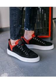 Pantofi casual din piele intoarsa pentru barbati Red Light