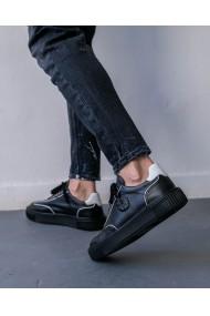 Pantofi sport office barbati din piele naturala Lefty