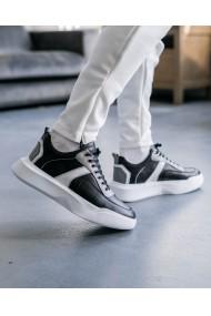 Pantofi sport cu talpa inalta barbati Kill Bill