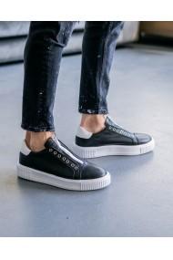 Pantofi sport barbati fara siret din piele naturala Santoro