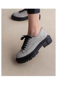 Pantofi casual din piele intoarsa