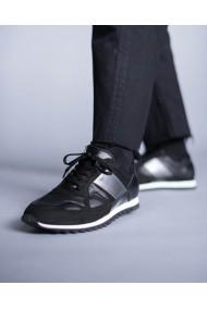 Sneakers barbati din piele naturala Iron Man