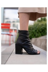 Sandale Bigiotto Shoes cu toc din piele naturala