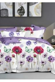 Lenjerie Pat, 6 Piese, Bumbac Finet Premium, Floral DN1020