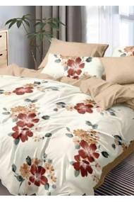 Lenjerie Pat, 6 Piese, Bumbac Finet Premium, Floral DN1022
