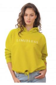 Hanorac Limitless, Bumbac Prmium, Lime,O702HB