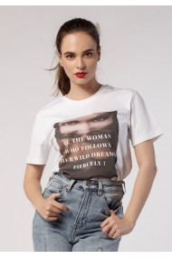 Tricou Be the Woman Who Follows Her Dreams