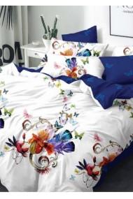 Lenjerie Pat, 6 Piese, Bumbac Finet Premium, Floral PS1045