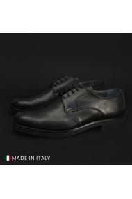 Pantofi Madrid 604_PELLE_NERO