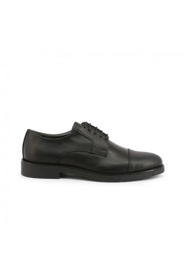 Pantofi Duca di Morrone 605 PELLE NERO