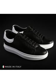 Pantofi sport Guido Bassi 4_PELLE_NERO