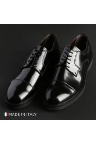 Pantofi Madrid CL605_ABRAS_NERO