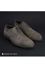 Pantofi Madrid 603_CAMOSCIO_TAUPE