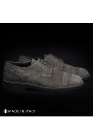 Pantofi Madrid 607_CAMOSCIO_TAUPE