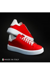 Pantofi sport R21 CALIFORNIA_GOMM_ROSSO-BNC