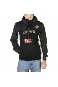 Pulover Geographical Norway Fitakol_man_blandedgrey-black