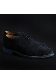 Pantofi Duca di Morrone 1003D_CAMOSCIO_BLU