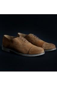 Pantofi Duca di Morrone 1003D_CAMOSCIO_TABACCO