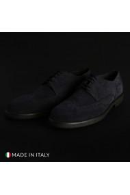 Pantofi Duca di Morrone 1302D_CAMOSCIO_BLU