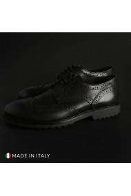Pantofi Duca di Morrone 1302D_PELLE_NERO