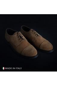 Pantofi Duca di Morrone 900D_CAMOSCIO_COGNAC