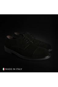 Pantofi Duca di Morrone 900D_CAMOSCIO_NERO
