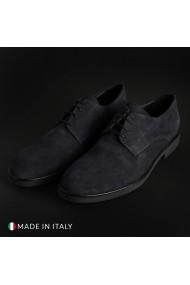 Pantofi Duca di Morrone O58D_CAMOSCIO_BLU