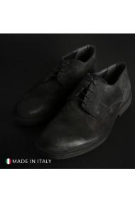 Pantofi Duca di Morrone O58D_CAMOSCIO_GRIGIO