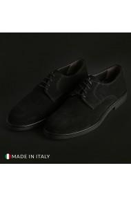 Pantofi Duca di Morrone O58D_CAMOSCIO_NERO