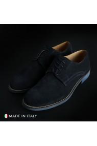 Pantofi Duca di Morrone O6D_CAMOSCIO_BLU